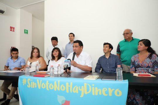 Bienvenida la propuesta de reducir financiamiento a partidos, hay que abrir el debate: Martínez Arcila