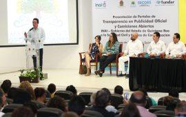 Intensificamos nuestro compromiso con la transparencia para dar a la gente más y mejores oportunidades de vivir mejor: Carlos Joaquín