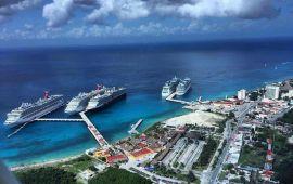 Cozumel se posiciona como el mejor puerto de cruceros del Caribe