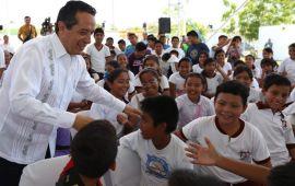 Más de 47 mil 500 alumnos reciben educación en escuelas de tiempo completo: Carlos Joaquín