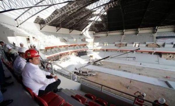 Se va a rescatar el Auditorio del Bienestar; propone Sintra concesión
