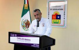 """""""No usen a mi padre como bandera electoral"""": Carlos Mario Villanueva Tenorio"""