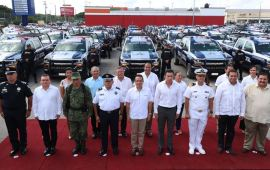 El Estado no entregó patrullas a ningún municipio, denuncia Cozumel; sólo fue un acto simbólico