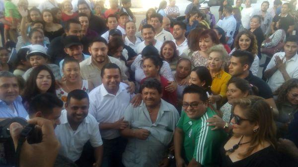 Emiliano Ramos y Jorge Portilla ya son precandidatos del PRD de Cancún y Tulum