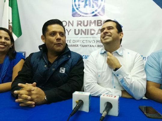Aún sin candidato, PRD y PAN confían en elección de tercios en Cancún