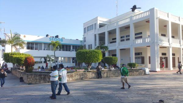 Inspeccionan Palacio de Gobierno para descartar riesgos tras sismo