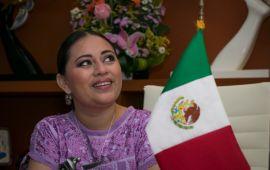 """""""No voy a caer en chantajes; voy a hacer campaña, con o sin partido"""": Perla Tun"""