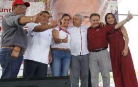 MORENA sostiene a Marybel y Pech como fórmula al Senado, y se tambalea la alianza con el PES