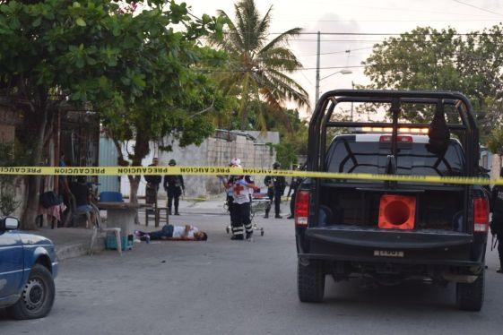 Sábado de terror en Cancún; hasta el momento, 3 ejecutados y 8 heridos