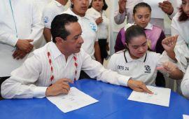 Impulsamos una educación inclusiva para que los jóvenes con discapacidad se preparen mejor: Carlos Joaquín