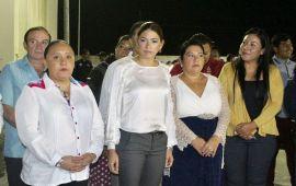 Asume Samaria Angulo presidencia de Solidaridad; Cristina, lista para la campaña