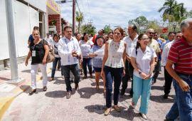 Supervisan ciudadanos alumbrado público en la zona turística de Playa