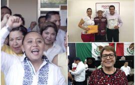 Aliados de AMLO en Playa se van con Cristina Torres