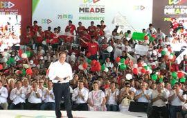 Meade mueve la maquinaria priísta en Cozumel…con tortas de cochinita