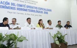 Solidaridad, preparado para temporada de huracanes: Samaria Angulo
