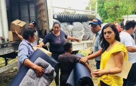 La SEDESO brinda asistencia a familias vulnerables afectadas por las lluvias