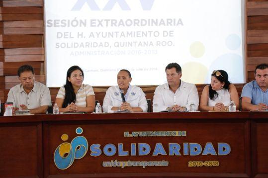Autoriza Cabildo bono por buen desempeño para policías de Solidaridad