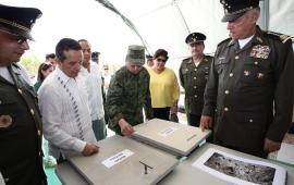 Inauguran instalaciones de lo que será el cuartel de la Policía Militar