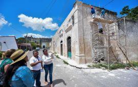 Gestionan recursos para preservación de sitios históricos de Tihosuco