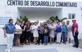 Inaugura Cristina Torres Centro Comunitario y oficinas municipales en Puerto Aventuras y Playa del Carmen