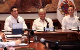 Avanzan AMLO y gobernadores en proyecto del Tren Maya