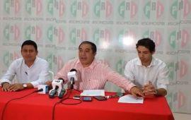 Renuncia Sansores a la dirigencia del PRI en Cancún