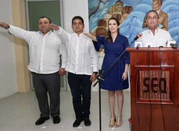 Suplente de Pedro Joaquín, representante del Gobierno del estado en Cozumel