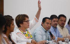 Laura señala fracasos en seguridad de gobiernos del PAN | Pide apoyar a AMLO
