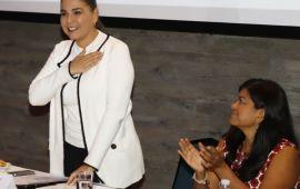 Participa Mara de taller de MORENA para Empoderamiento y Liderazgo Político de las Mujeres
