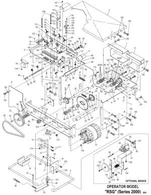 Power Master RSG Sliding Gate Operator Parts PowerMaster