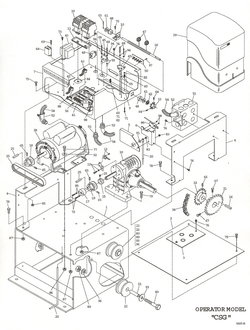Ford 7700 parts diagram wiring diagram and fuse box powermaster csg operator exploded view small ford