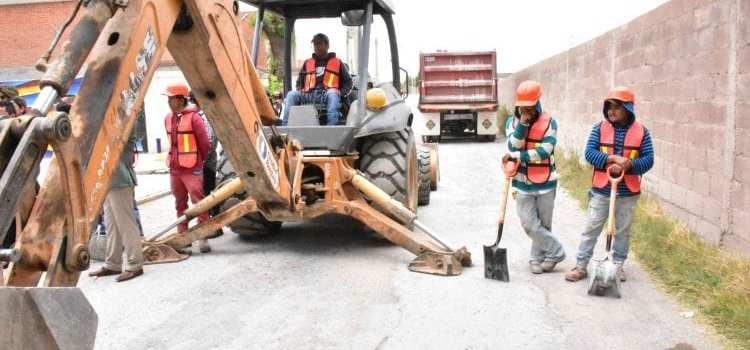 obras de pavimentación