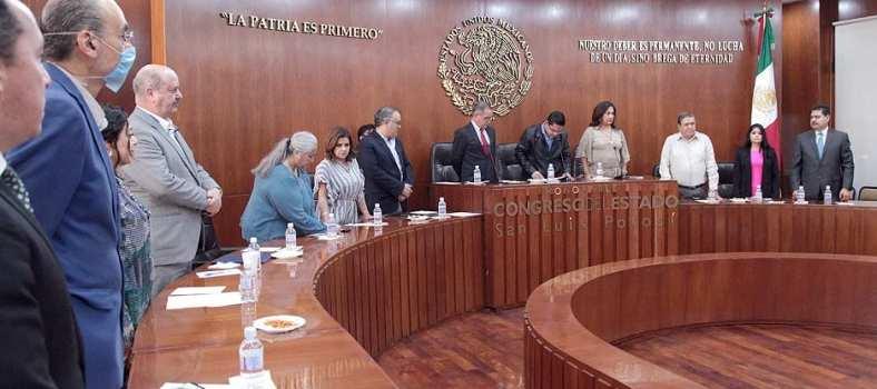 ¿Quiénes integrarán la comisión de la reforma político-electoral en SLP?