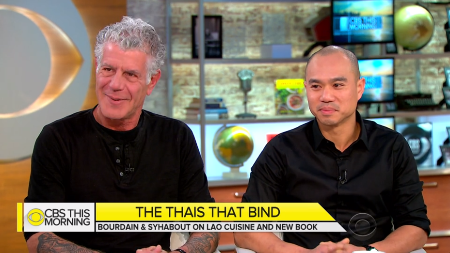 Anthony Bourdain and James Syhabout on Lao Cuisine