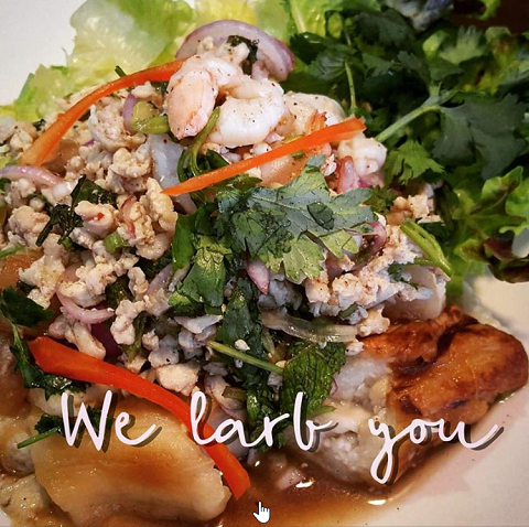 Larb Eggplant, We Larb You!
