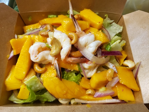 Yum Mango (Mango Salad), Ask Server for Availability, Good Luck!