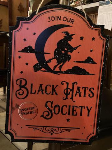 Happy Halloween! Join the Black Hats Society!