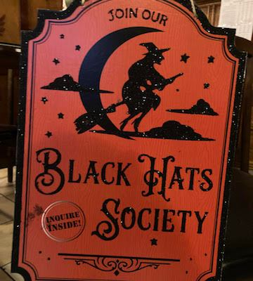 Happy Halloween! Join the Black Hats Society!