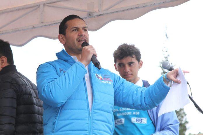 Daniel Palacios es candidato del Centro Democrático al Concejo de Bogotá