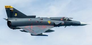 Colombia cuenta con aviones de guerra Kfir de Israel, los cuales tienen un tecnología obsoleta