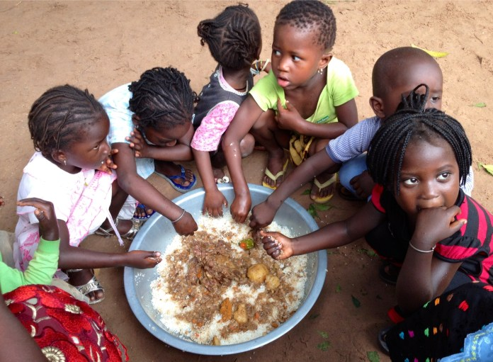 Niños pobres Unicef