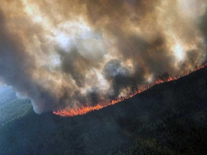 Incendios forestales en Alaska