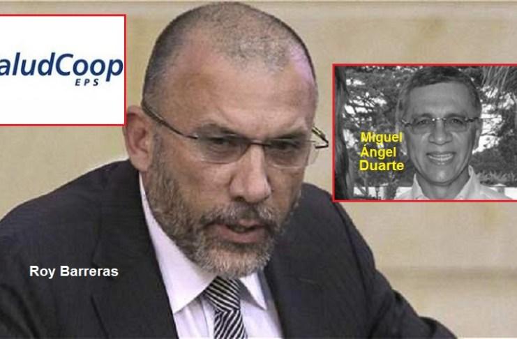 Roy Barreras y Miguel Ángel Duarte