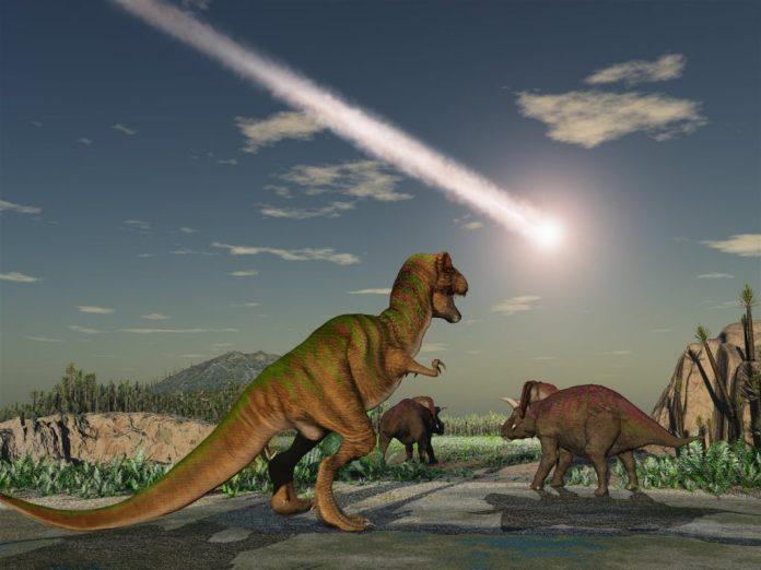 Meteorito y Dinosaurios