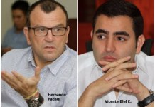 Hernando Padaui y Vicente Blel Escaf