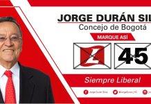 Concejal Jorge Duran