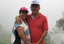 Ruby Murillo y su sancionado esposo John Nelson Martínez, quien la quiere poner en la Alcaldía de Muzo (Boyacá) para seguir reinando.