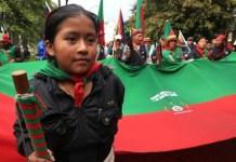 Movilización de Indigenas