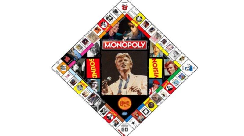 Monopoly lanza nueva edición de David Bowie