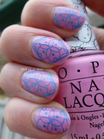opi hello kitty - stamping - laoujereve03